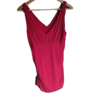 cAbi Sleeveless Red Top Medium